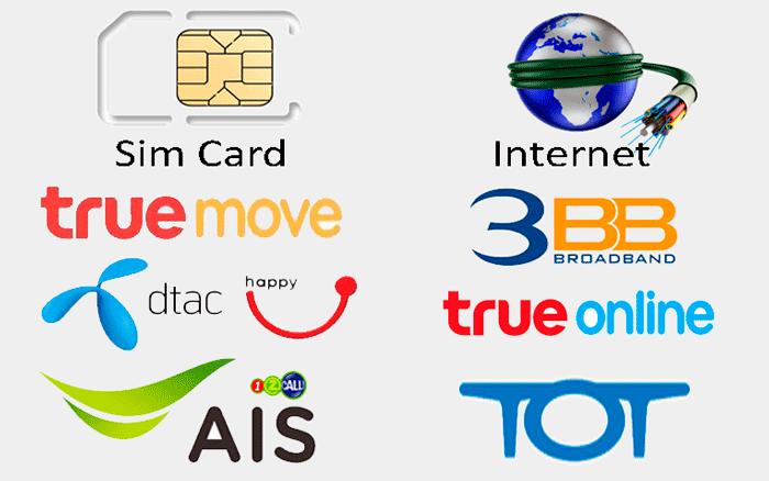 20d5e0d327010 Мобильная связь и интернет в Таиланде. Выделенный интернет.
